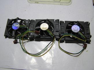 Вентиляторы от компьютера. 3 штуки. Б/у.