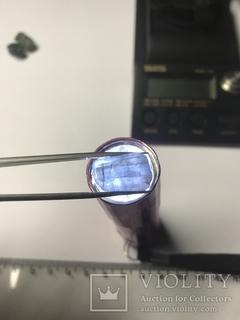 Турмалин индиголит 15х10 мм красивый кристалл 13,18 карата