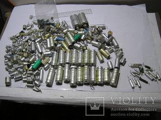 Электролитические конденсаторы.