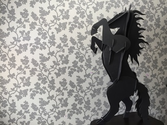 Фигура 3D конь