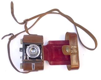 Немецкий фотоаппарат - гармошка Welta .