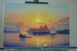 Рассвет над Венецией