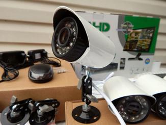 4 камеры Система видеонаблюдения