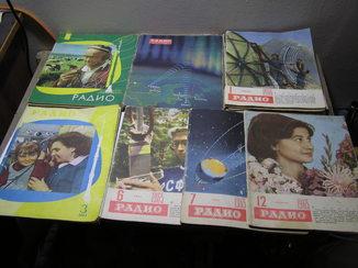 Журналы ,,Радио,, .Разные годы. Не комплектны.