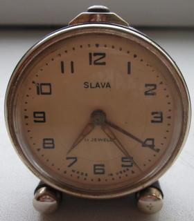 Советский будильник Слава.