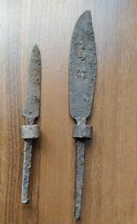 Старинные ножи