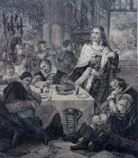 Гравюра 17-18 век . Friedrich I