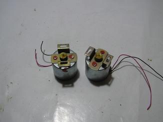 Два электродвигателя на 9 вольт. Япония. Б/у.