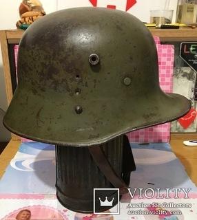 Австро-венгерский стальной шлем М17 размер 66
