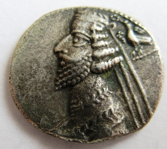 Парфия, серебряная драхма PHRAATES IV (38 до н.э.-2 г. н.э.)