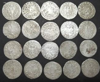 Монеты Полугрош 20 шт