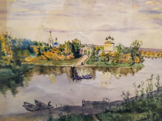 Собор и речка Суханий В.