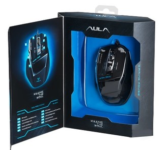 Проводная мышь (мышка) Aula Killing The Soul USB Black (6948391211039)
