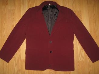 Бордовий піджак на 152см