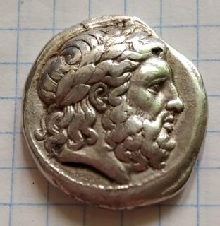 Тетрадрахма Филипп ll Македонский