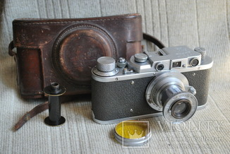 ФЭД Зоркий, 1948 год № 04377, Индустар-22 МОСКВА №3021, КМЗ.
