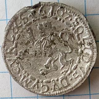Курляндский солид 1607 года