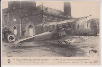 Воздушная война. Немецкая машина захвачена летчиком Гилбертом. Январь 1915. ПМВ