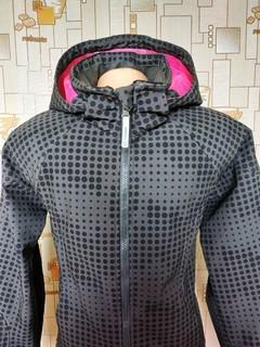 Куртка сноуборд H&M софтшел стрейч мех на рост 158