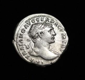 Траян денарий  RIC 128