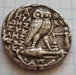 Афины,тетрадрахма (новый стиль)
