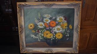 Цветы вазе.