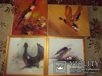 4 Картины Гузенко П.П. коллекция.