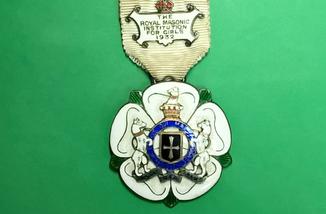 Награда масонов STEWARD. Серебро. RMIG 1932 г.