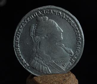 Рубль 1734г