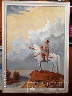 Князь Володимир над Бугом. 127.5х91 см. Полотно. Олія. 1989 р.