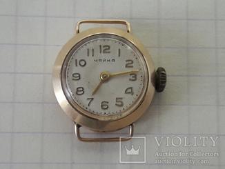 Часы женские Чайка  золото 750 проба