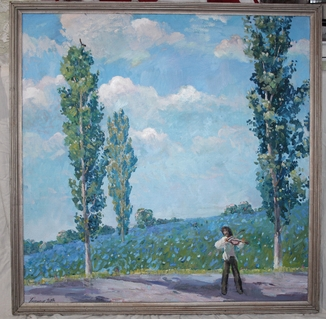 Антипов М.В. Чарівна Скрипка. 2004. 95*95