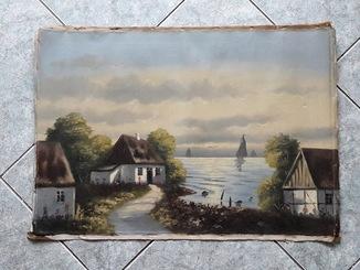 Сельский пейзаж / Дания
