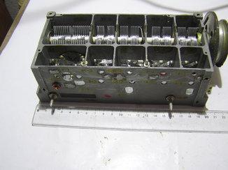 Блок переменных конденсаторов. Б\у.