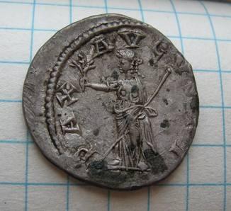Антониниан Гордиан III (238-239 год н.э) PAX AUGUSTI
