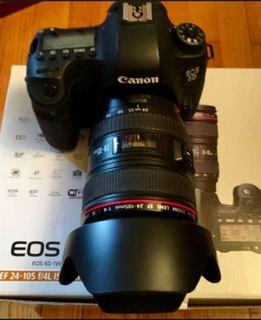 Canon EOS 6D Kit (24-105mm f/4 IS L) (WiFi, GPS) / Заводской комплект + бонус