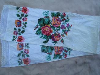 Рушник цветы.
