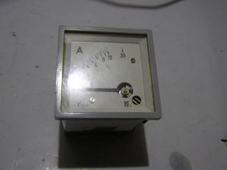 Амперметр 0-20 Ампер. Б/у.