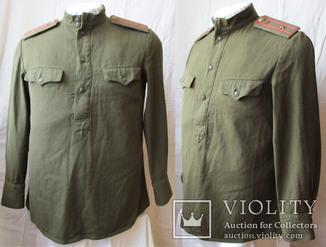 Гимнастерка майора бронетанковых войск образца 1943 года.