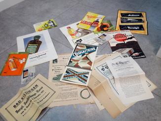 Большой лот Рекламной Продукции Мед препаратов 1930гг Hipp, Bayer итд