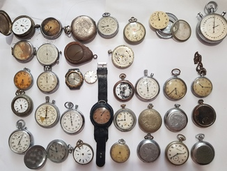 Часы карманные,разного периода