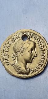 Ауреус Гордіана ІІІ (реверс Феміда)