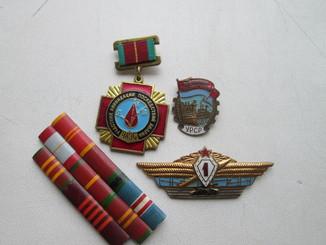 Тяжелые значки СССР