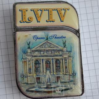 Зажигалка   LVIV   Львов