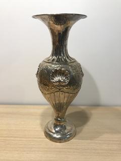 Серебряная ваза для цветов