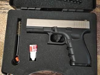 Пистолет шумовой стартовый 9 ммRETAY G19C-U