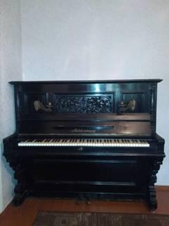 Пианино H. Mecklenburg старинное немецкое