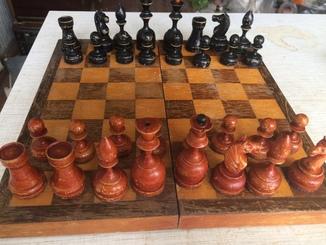 Старинные шахматы полный набор из СССР 1950-1954.