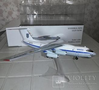 """Коллекционная модель :""""ИЛ-76 ТД"""""""