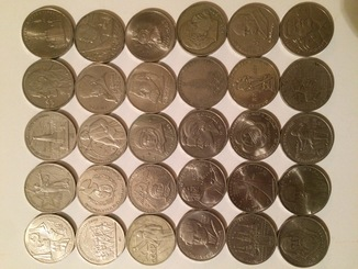 Юбилейные монеты сср.